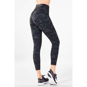 Fabletics Pants - Fabletics High-Waisted Printed PowerHold 7/8
